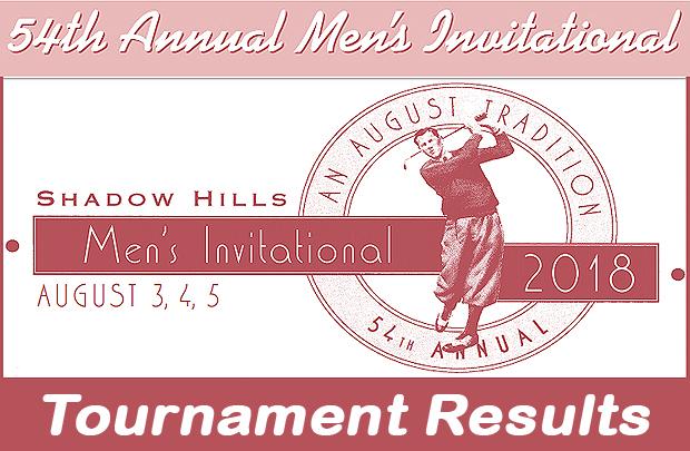 Shcc Men S Classic Tournament Results Shadow Hills Extra